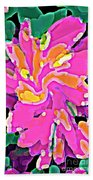 Iphone Cases Colorful Flowers Abstract Roses Gardenias Tiger Lily Florals Carole Spandau Cbs Art 183 Beach Towel