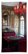 Iran Golestan Palace Interior  Beach Towel