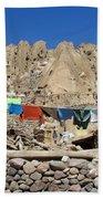 Iran Kandovan Stone Village Laundry Beach Towel