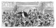 Ireland Election, 1857 Beach Towel