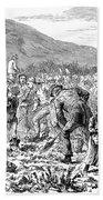 Ireland Peasants, 1886 Beach Towel