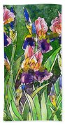 Iris Inspiration Beach Towel