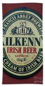 Irish Beer Beach Towel