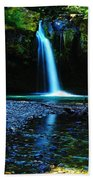 Iron Creek Falls Beach Towel