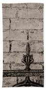 Iron Fence - New Orleans Beach Towel