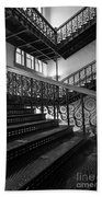 Iron Staircases Beach Towel