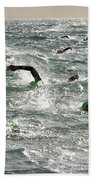 Ironman 2012 Sheer Determination Beach Towel by Bob Christopher