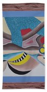 Irreconcilable Differences Beach Towel