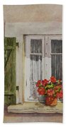 Irvillac Window Beach Towel