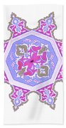 Islamic Art 06 Beach Towel