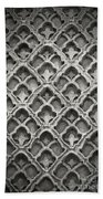 Islamic Art Stone Texture Beach Towel
