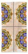 Islamic Tiles 03 Beach Towel