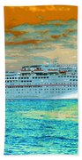 Island Passage Beach Towel
