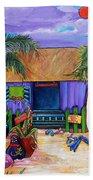 Island Time Beach Towel by Patti Schermerhorn