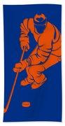 Islanders Shadow Player3 Beach Towel