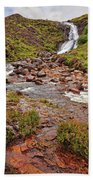 Isle Of Skye Waterfall Beach Towel