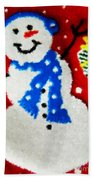 It Is Christmas Time Beach Towel