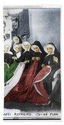 Italian Nuns Beach Towel