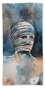 Italian Sculptures 03 Beach Towel