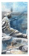 Italian Sculptures 04 Beach Towel