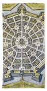 Italy: Palmanova Map, 1598 Beach Towel