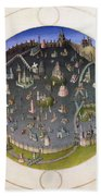 Italy: Rome, 15th Century Beach Towel