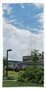 Ithaca College Campus Beach Towel by Photographic Arts And Design Studio