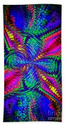 It's A Rainbow World Beach Towel