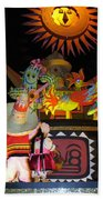 It's A Small World With Dancing Mexican Character Beach Towel