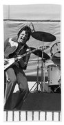 J. Geils On Stage In Oakland 1976 Beach Towel