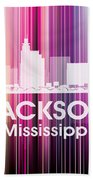 Jackson Ms 2 Beach Towel