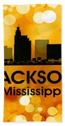 Jackson Ms 3 Beach Towel