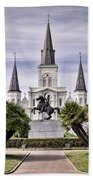 Jackson Square Beach Towel