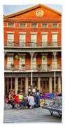 Jackson Square Reading Beach Sheet