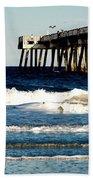 Jacksonville Pier Beach Towel