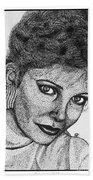 Jaclyn Smith In 1985 Beach Towel by J McCombie