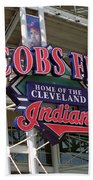 Jacobs Field - Cleveland Indians Beach Towel