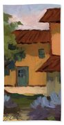 Jacques Farm In Provence Beach Towel