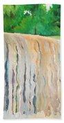 Jagala Waterfalls  Beach Towel