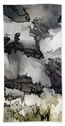 Jagged And Flowing Beach Towel