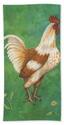 Jagger The Rooster Beach Towel
