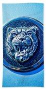 Jaguar Emblem -0056c Beach Towel
