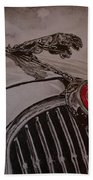 Jaguar Mk II Bonnet Beach Towel