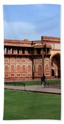 Jahangir Palace Red Fort Agra Beach Towel