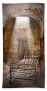 Jail - Eastern State Penitentiary - 50 Years To Life Beach Towel