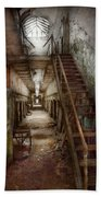 Jail - Eastern State Penitentiary - Down A Lonely Corridor Beach Towel