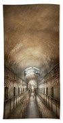 Jail - Eastern State Penitentiary - End Of A Journey Beach Towel