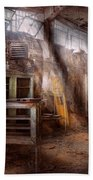Jail - Eastern State Penitentiary - Sick Bay Beach Towel by Mike Savad