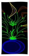 Jais' Koddy Leaf Beach Towel