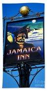 Jamaica Inn On Bodmin Moor Beach Towel